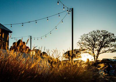 Outdoor lighting at Esperanza Ranch