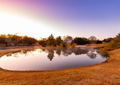 Lake view at Esperanza Ranch