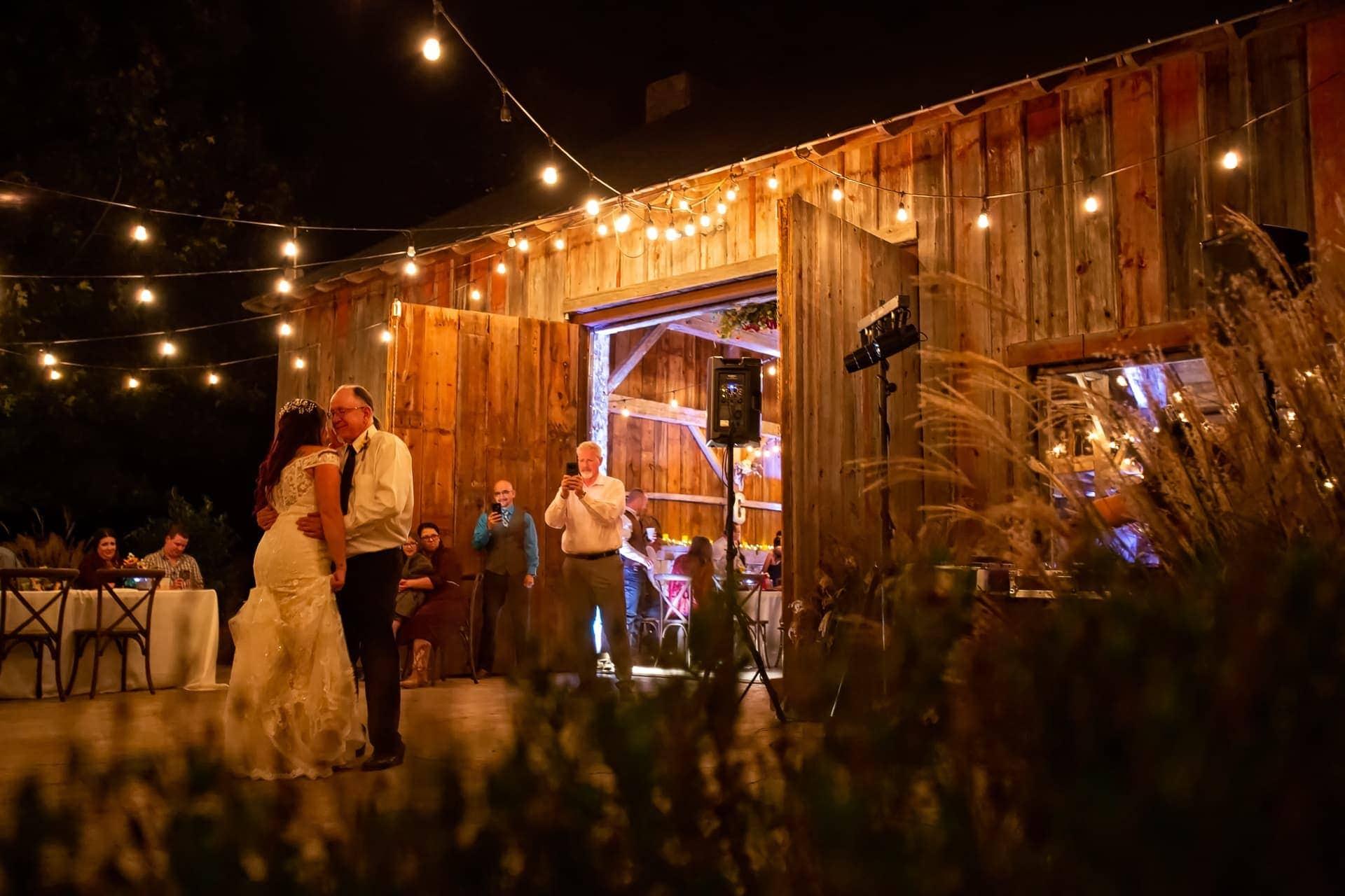 Dancing under the starts at Esperanza Ranch