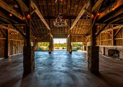 Spacious Barn Interior Esperanza Ranch