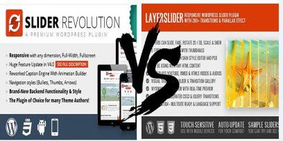 Slider Revolution vs Layer Slider