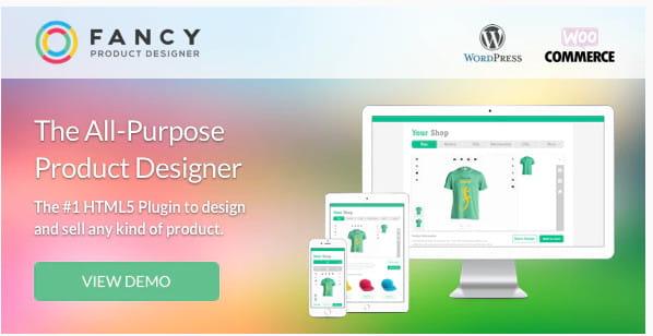 WooCommerce Fancy Product Designer plugin.