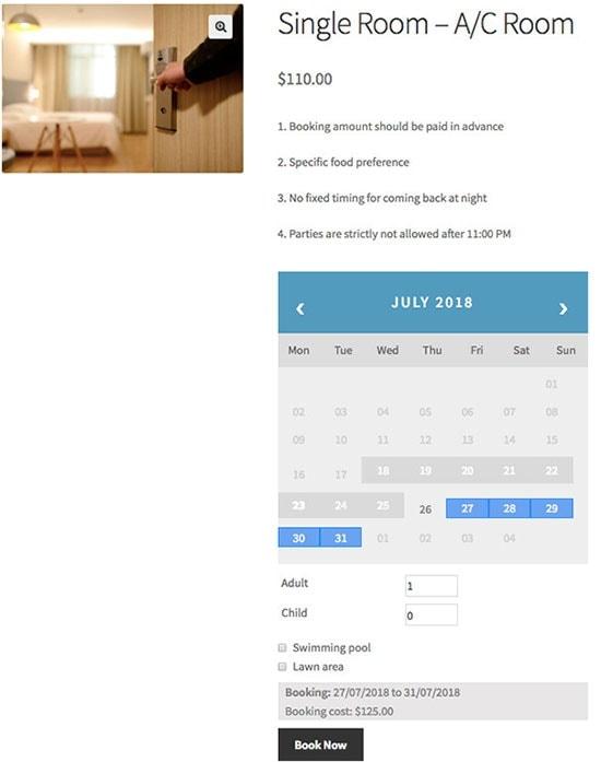 best woocommerce free bookings plugin