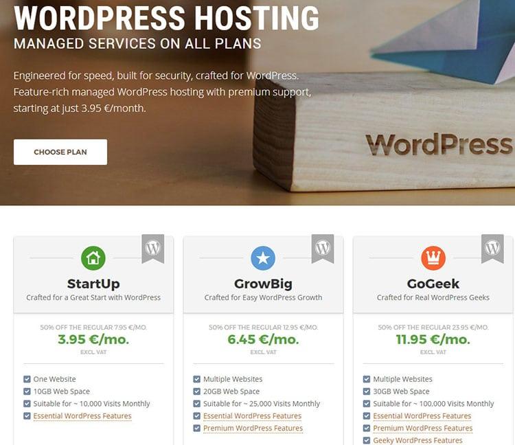 siteground WordPress hosting reviews comparison