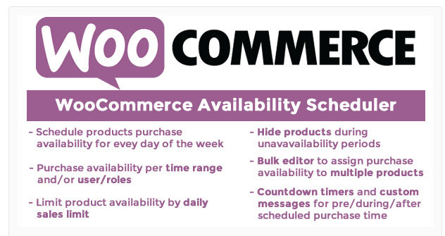 WooCommerce Availability Scheduler review