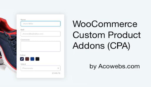 WooCommerce Custom Product Addons plugin.