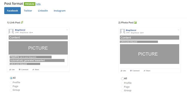 automatic share post on facebook wordpress plugin