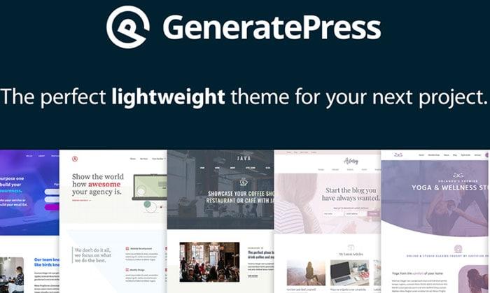 generatepress alternatives