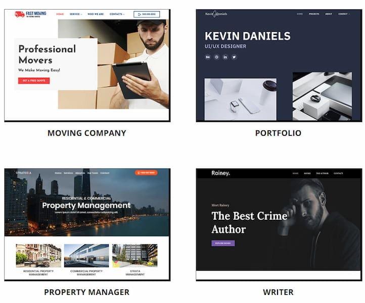Web.com templates.