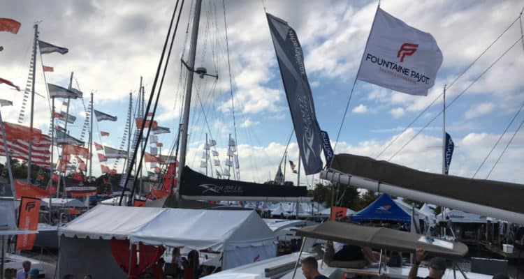 Overview picture of Annapolis Boat Show 2017