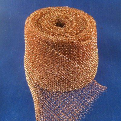 Caging mesh copper