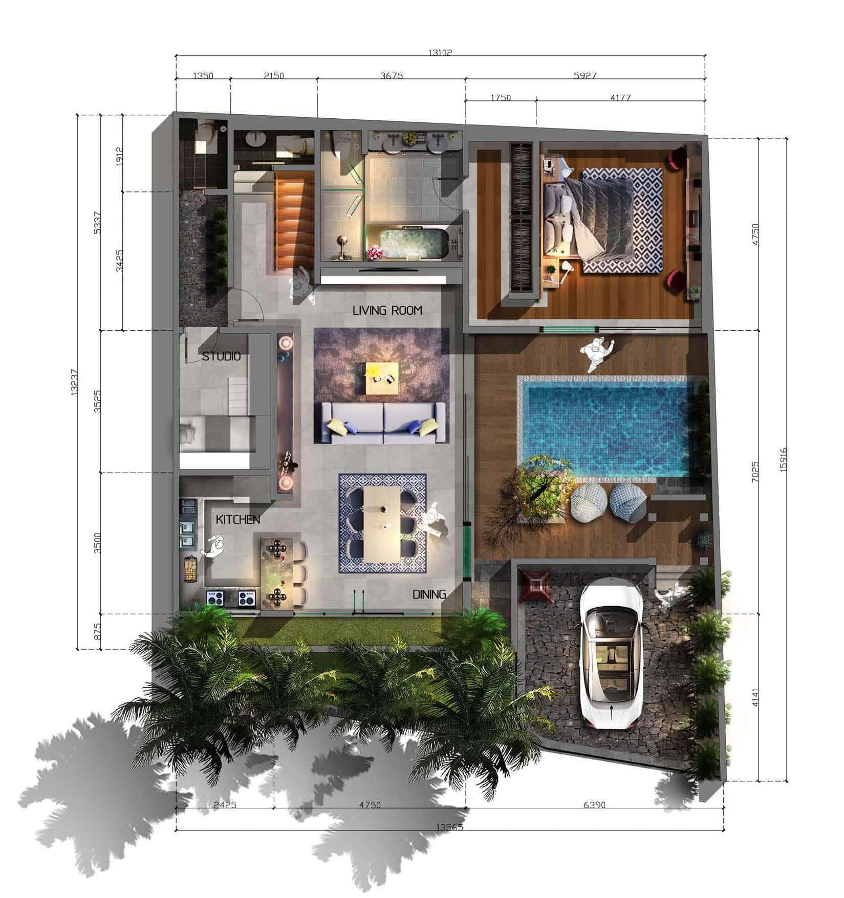 Balitecture Portfolio Architectural Designs And Bali Villa Portfolio
