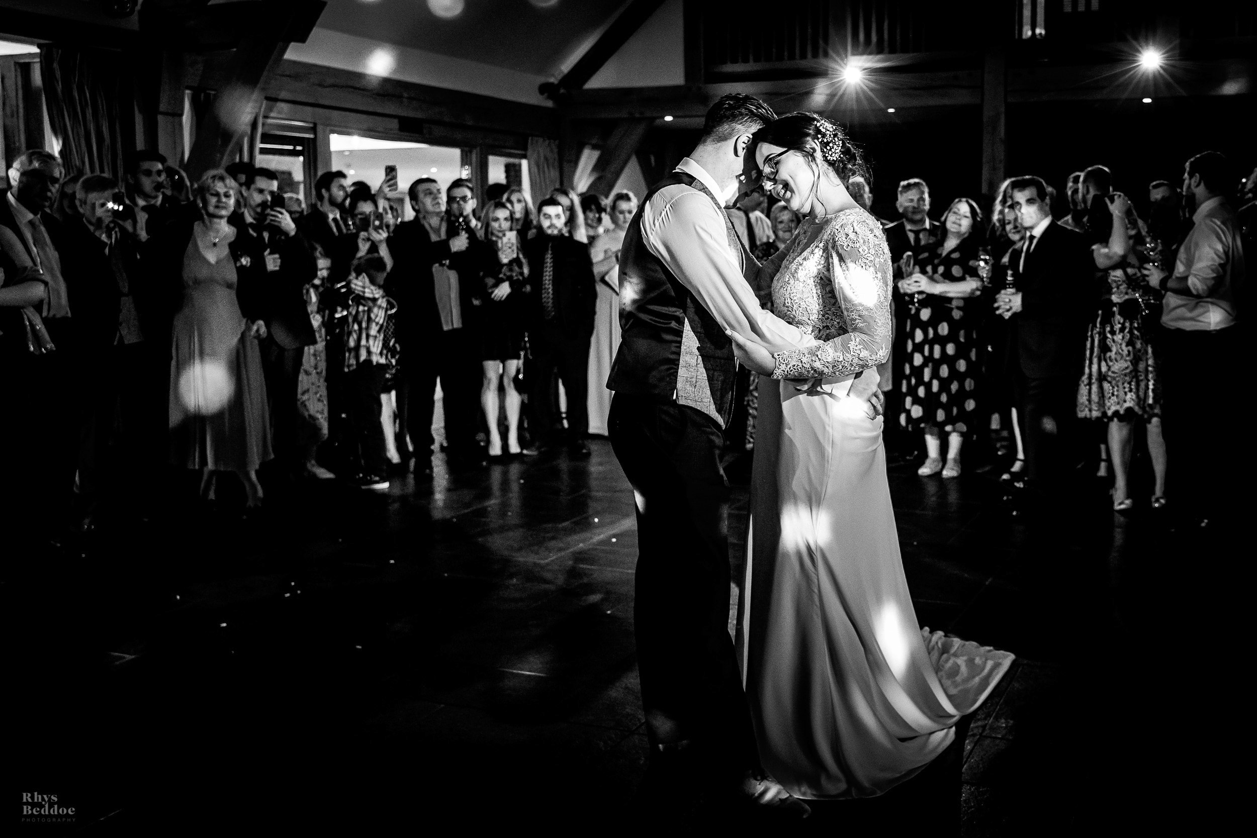 First dance at mythe barn