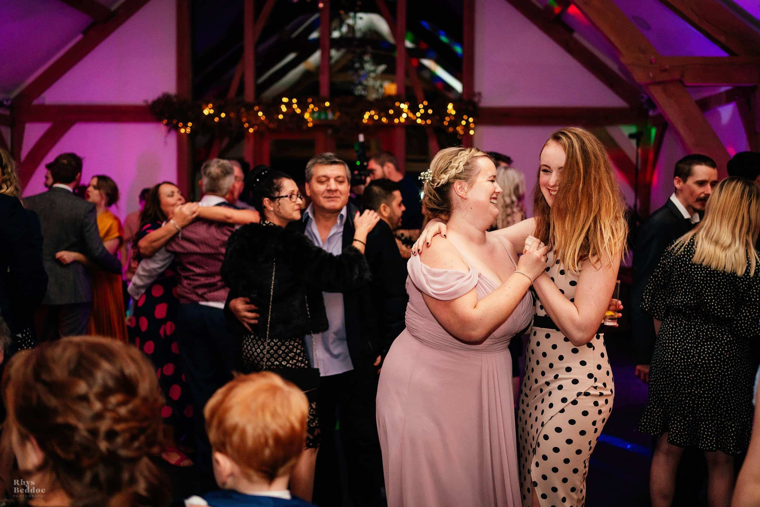 Dancing captured by myth barn wedding photographer