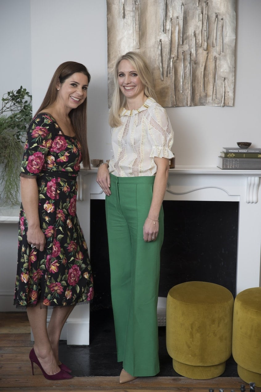Debbie Wosskow OBE and Anna Jones, co-founders of Allbright