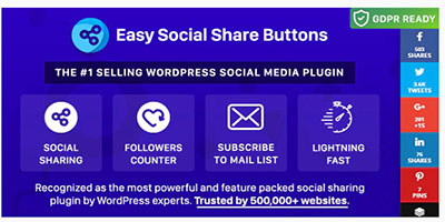 easy social share buttons vs monarch