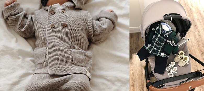 Babykleidung für den Herbst