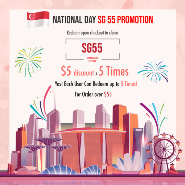 SG 55 National Day Promotion