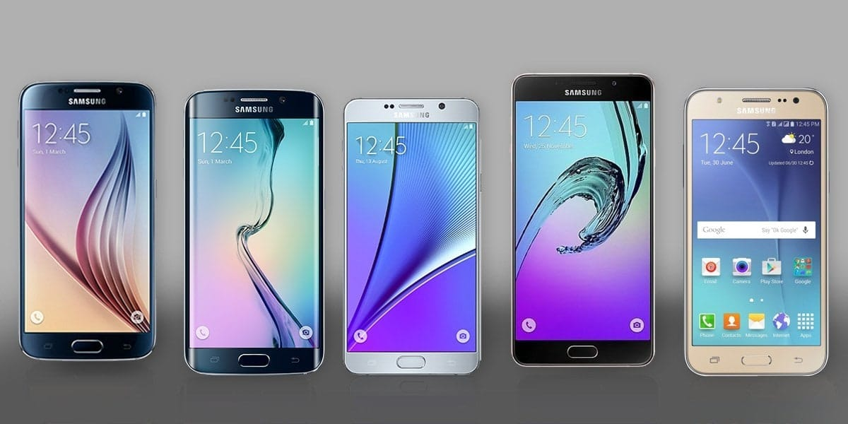 Samsung is a dominant player in the global smartphone market