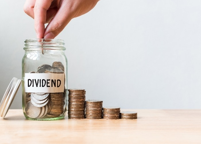 Growth share dividends