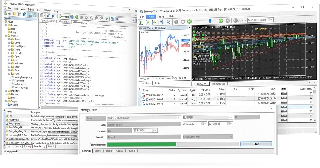 cryptocurrency trading software via MT4