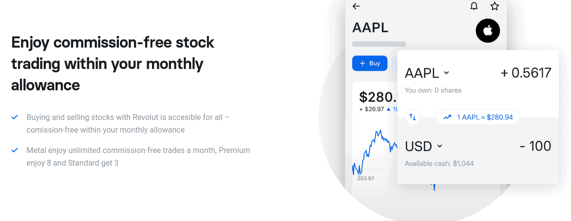 revolut commission-free stock trading