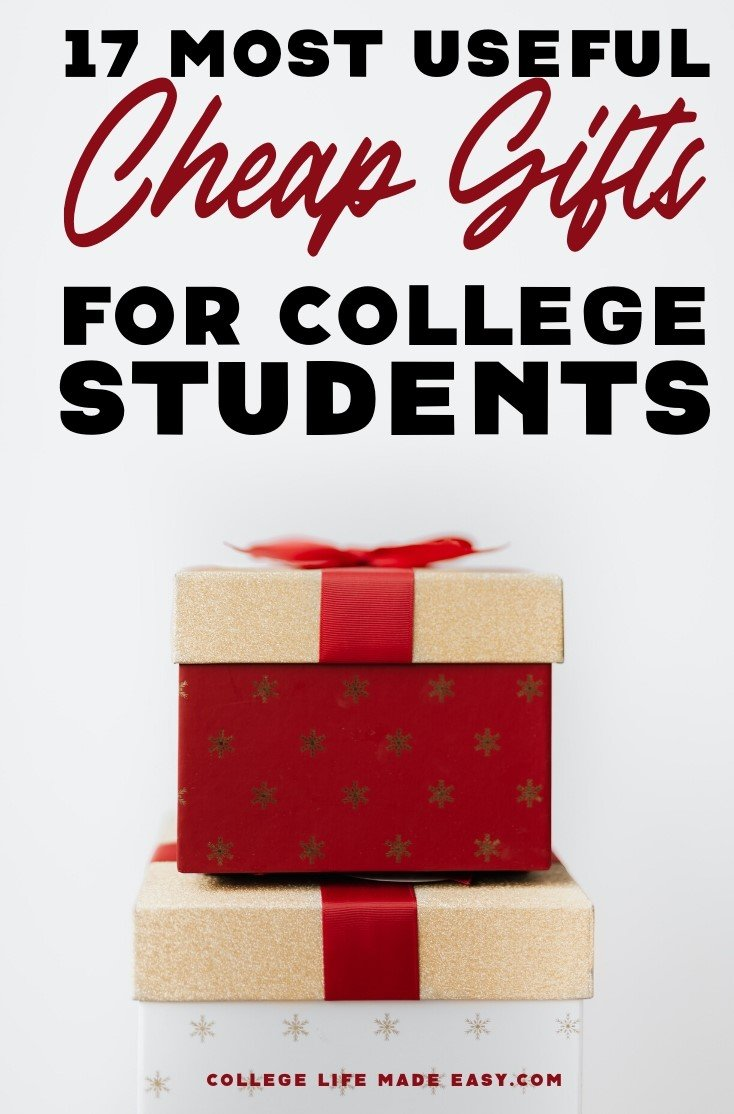 the most practical (cheap) gift ideas for college students