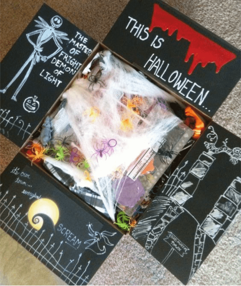 Halloween care package ideas for college students