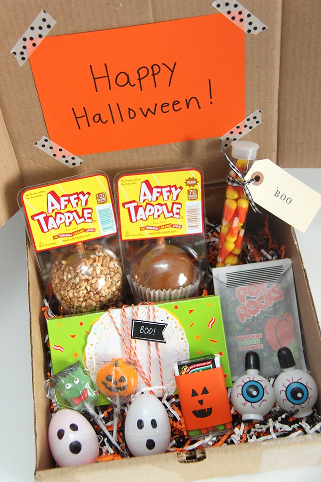 Happy Halloween! care packages for college