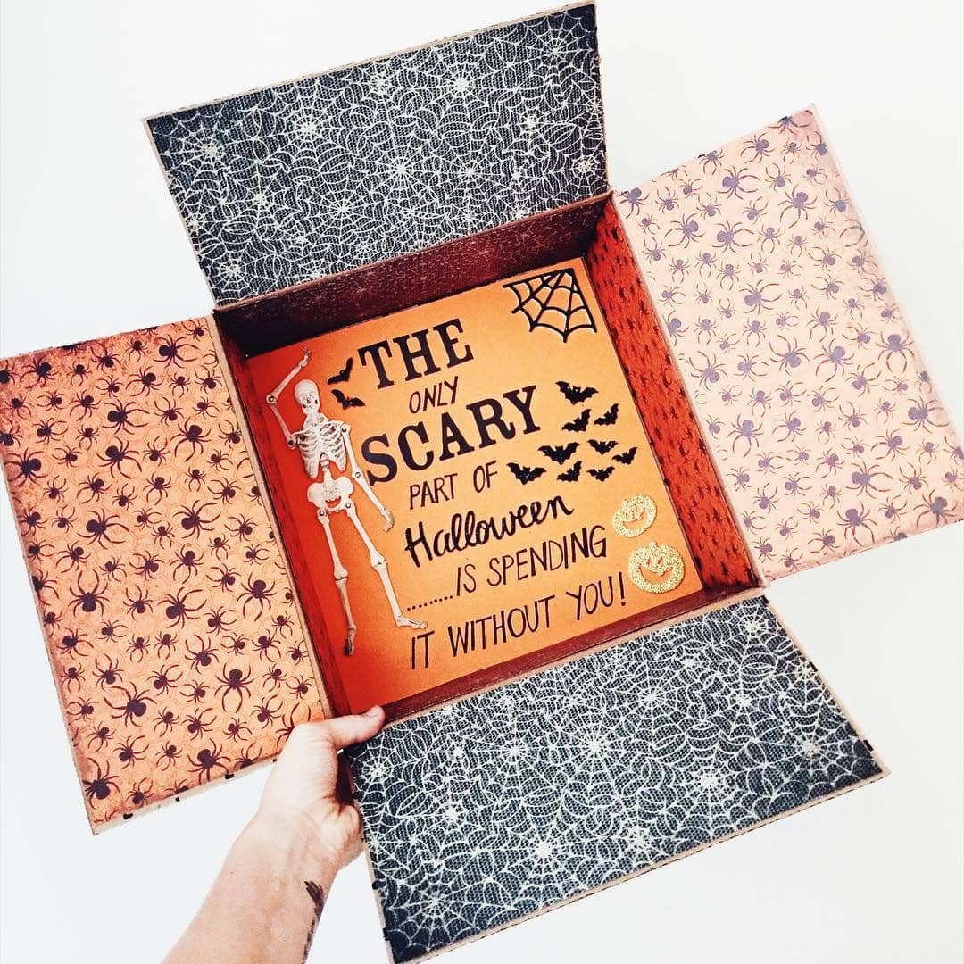cute Halloween care package ideas