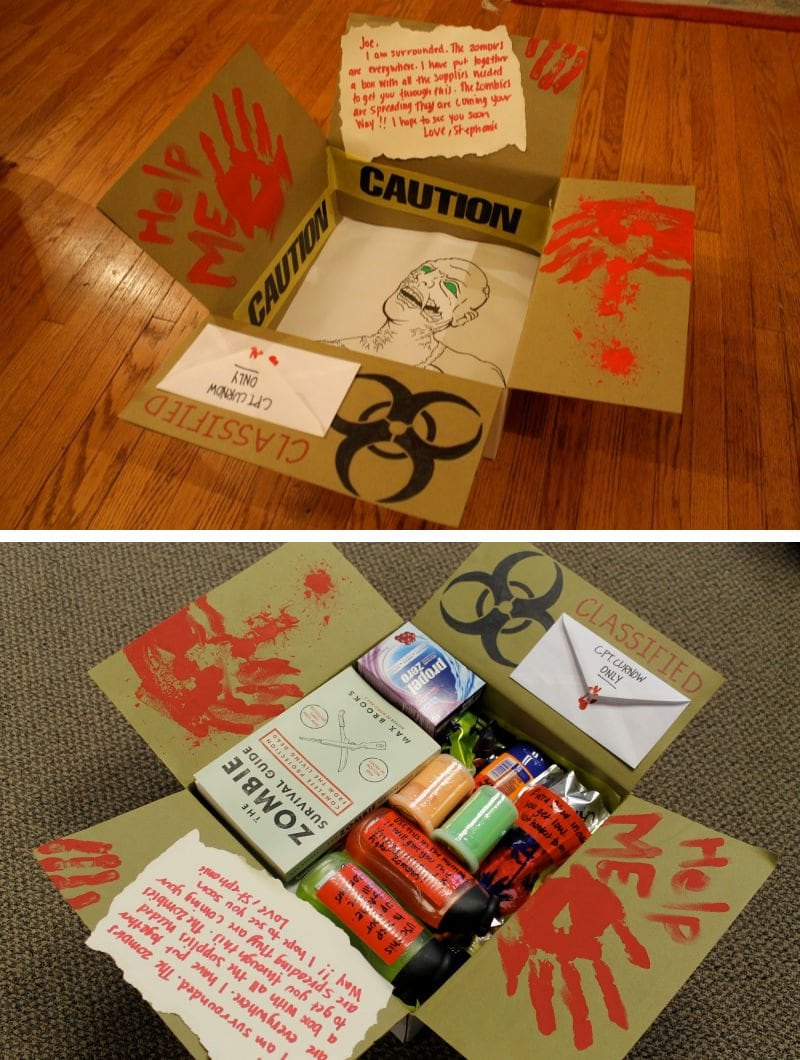 zombie college care package