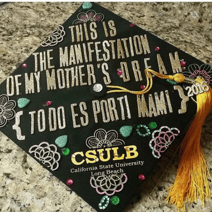 graduation cap ideas Mexican