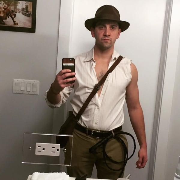 guy's indiana jones costume