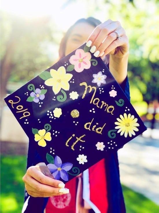 decorated mama did it grad cap idea