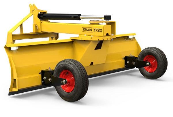 Traktorskjær 1720 er et kraftig skjær for mindre traktorer. Tilpass skjæret til ditt behov ved å velge utstyrsnivå.