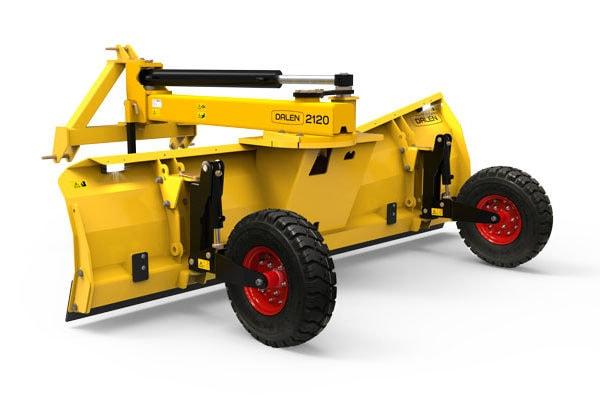 Traktorskjær 2120 og 2121 er kraftige proffskjær. Tilpass skjæret til ditt behov ved å velge utstyrsnivå.