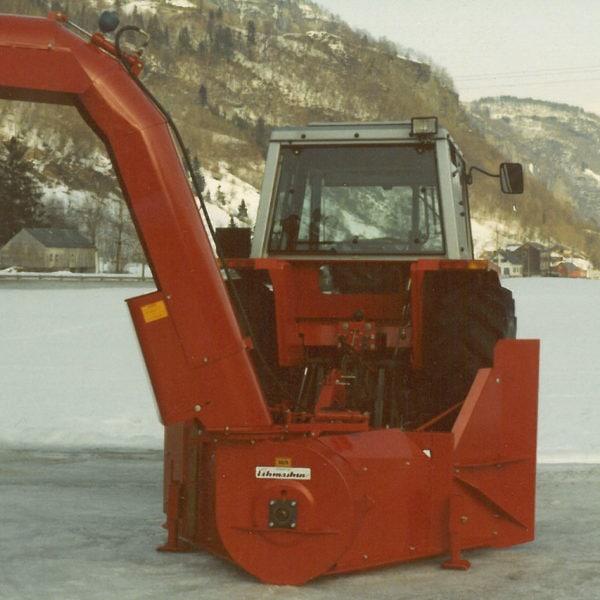 Lastetut: 0278 med lastetut, som vanlig var det prototypen det ble tatt bilde av.