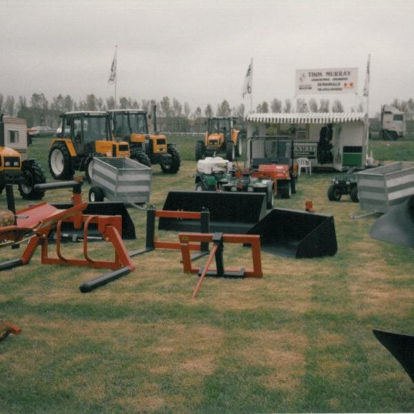 Messe 1993: Ayr show i Skottland.