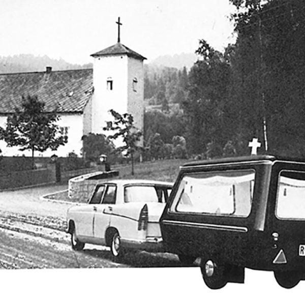 Dalen gravferdsvogn fra 1969