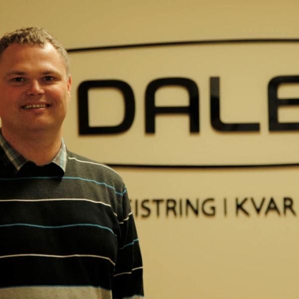 Tredje generasjon tar over: Svein Ove Lid er siviløkonom og tok over sjefsstolen i januar 2011. Med dette er familiebedriften videreført til tredje generasjon.