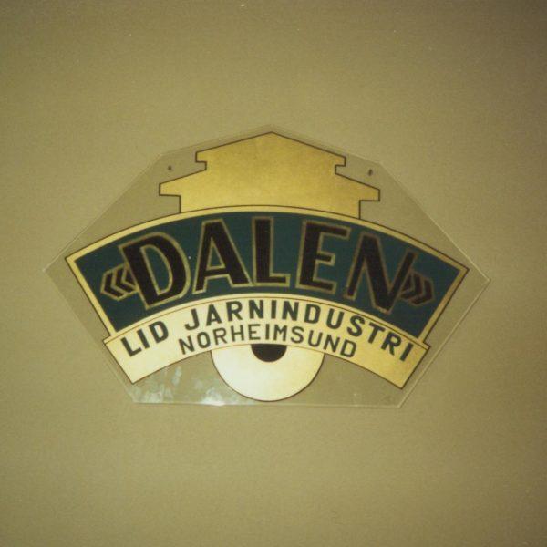 Første logo: Dette var bedriftens første logo.