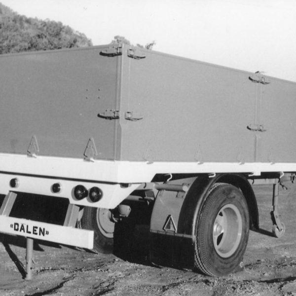 Lastebiltilhenger: Antallet modeller økte etter hvert.