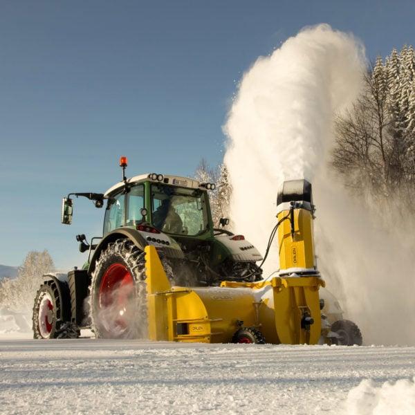 Dalen 2013 -Professionelle Schneefräse mit großer Kapazität