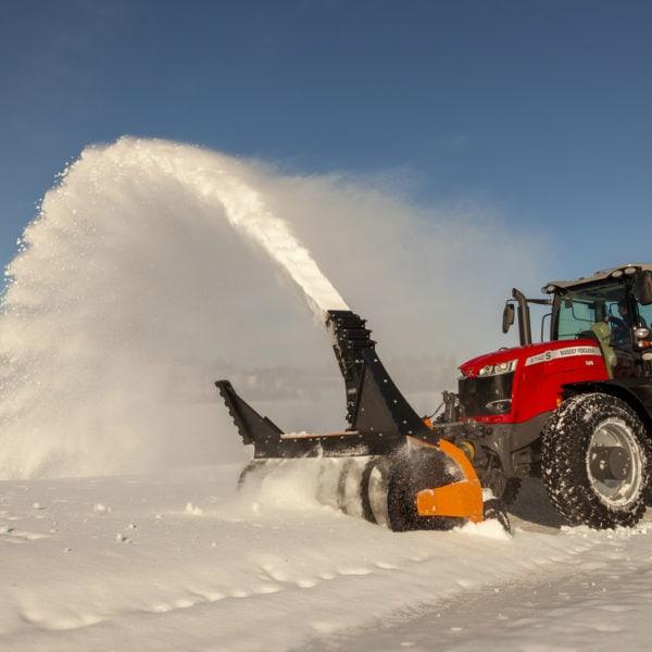Dalen 2118 - Snøfres for store traktorer