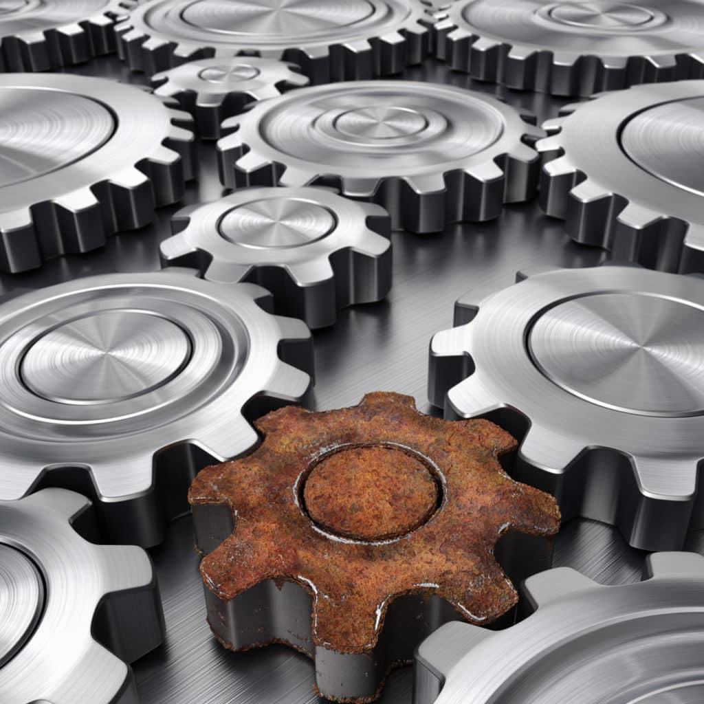 Forbedring og evaluering er viktige sider av produktutviklingen. Produktet blir aldri bedre enn det svakeste ledd.