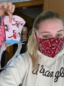 Accuquilt mask making