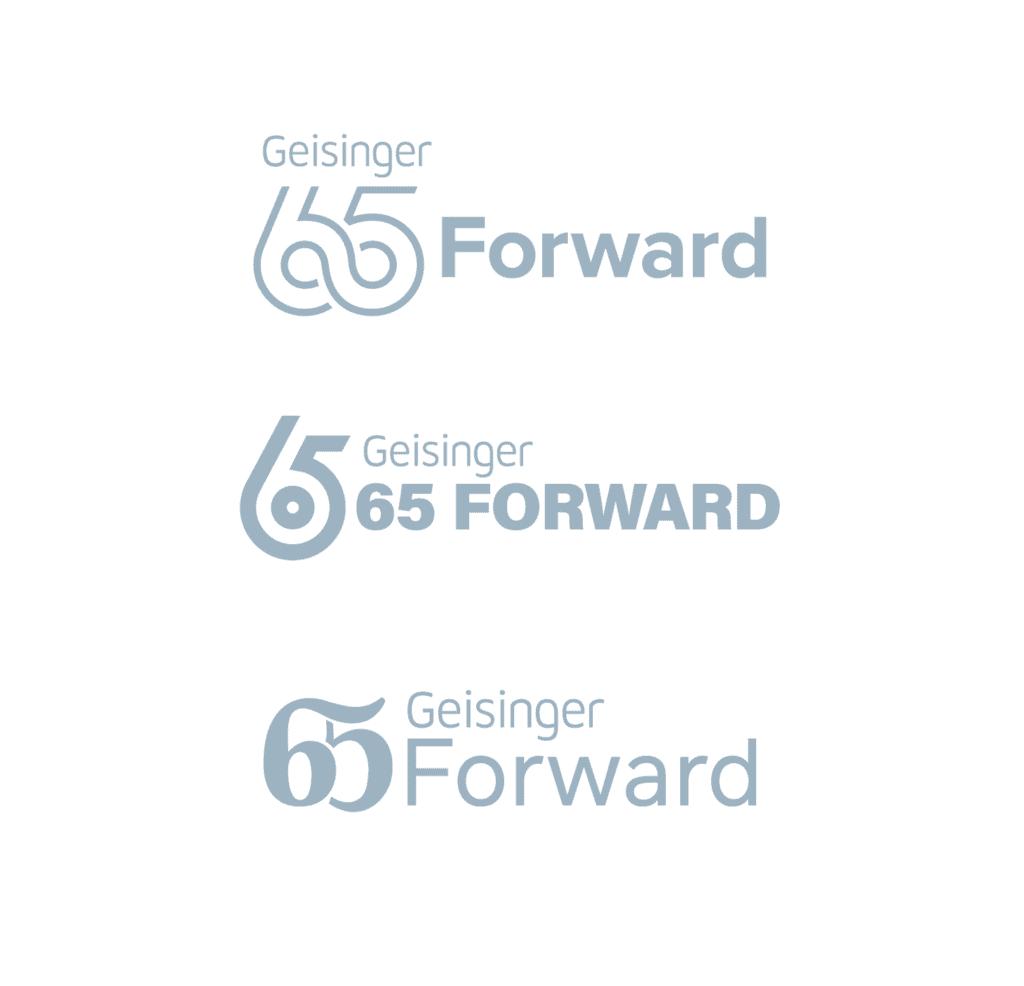 gesinger 65 forward logo evolution
