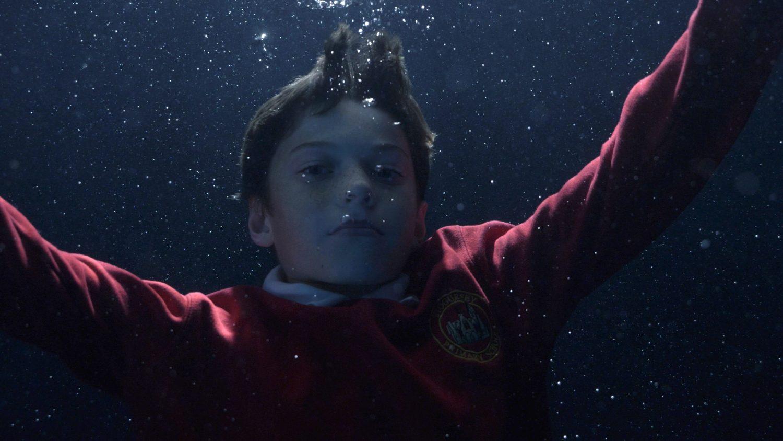 Image: Sam underwater
