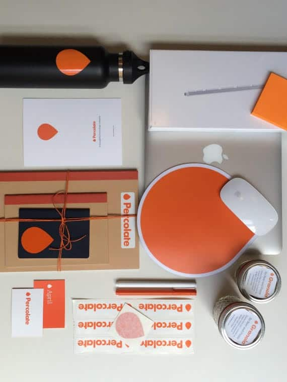best onboarding practices percolate new employee pack