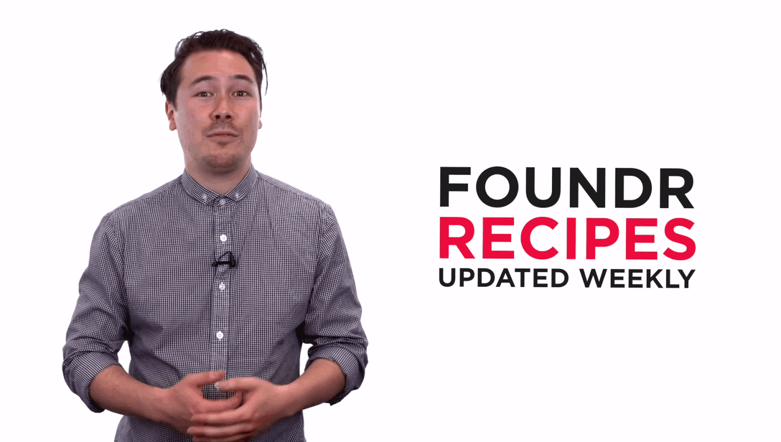 product launch foundr recipes